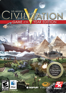 Civ 5 Game of the Year Box