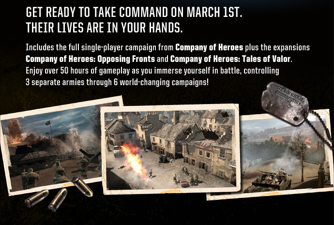 company of heroes campaign guide